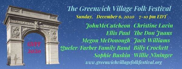 GREENWICH VILLAGE FOLK FESTIVAL