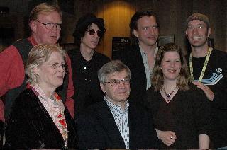 Ellis Paul with friends