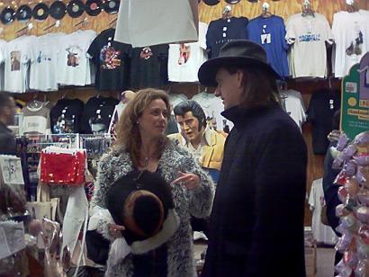 Michelle Greene and Ellis Paul in Nashville.