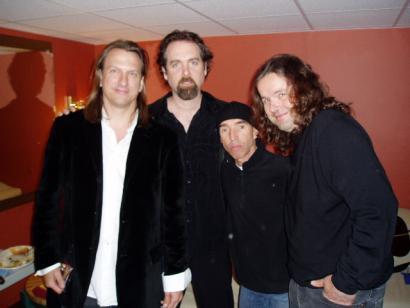 Ellis Paul, Flynn, Don Conoscenti, and Radoslav Lorkovic