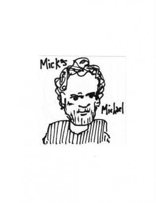 Michael Campbell, owner of Mick's Music and Bar in Omaha
