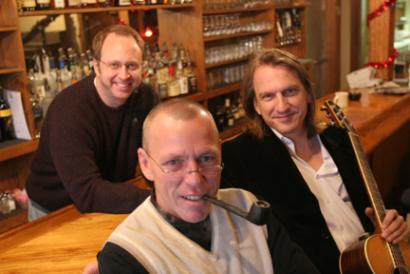 Ellis Paul with Bob Ephlin and Eddie Owen