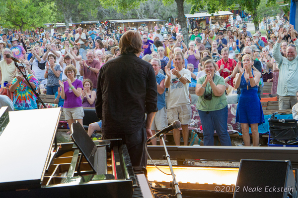 Standing ovation at Kerrville 2012