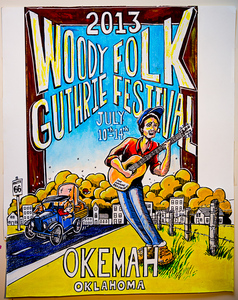 Coming Soon!  Limited Edition 2013 Woody Fest Poster