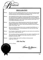 Mayor Menino declares today Ellis Paul Day in the City of Boston